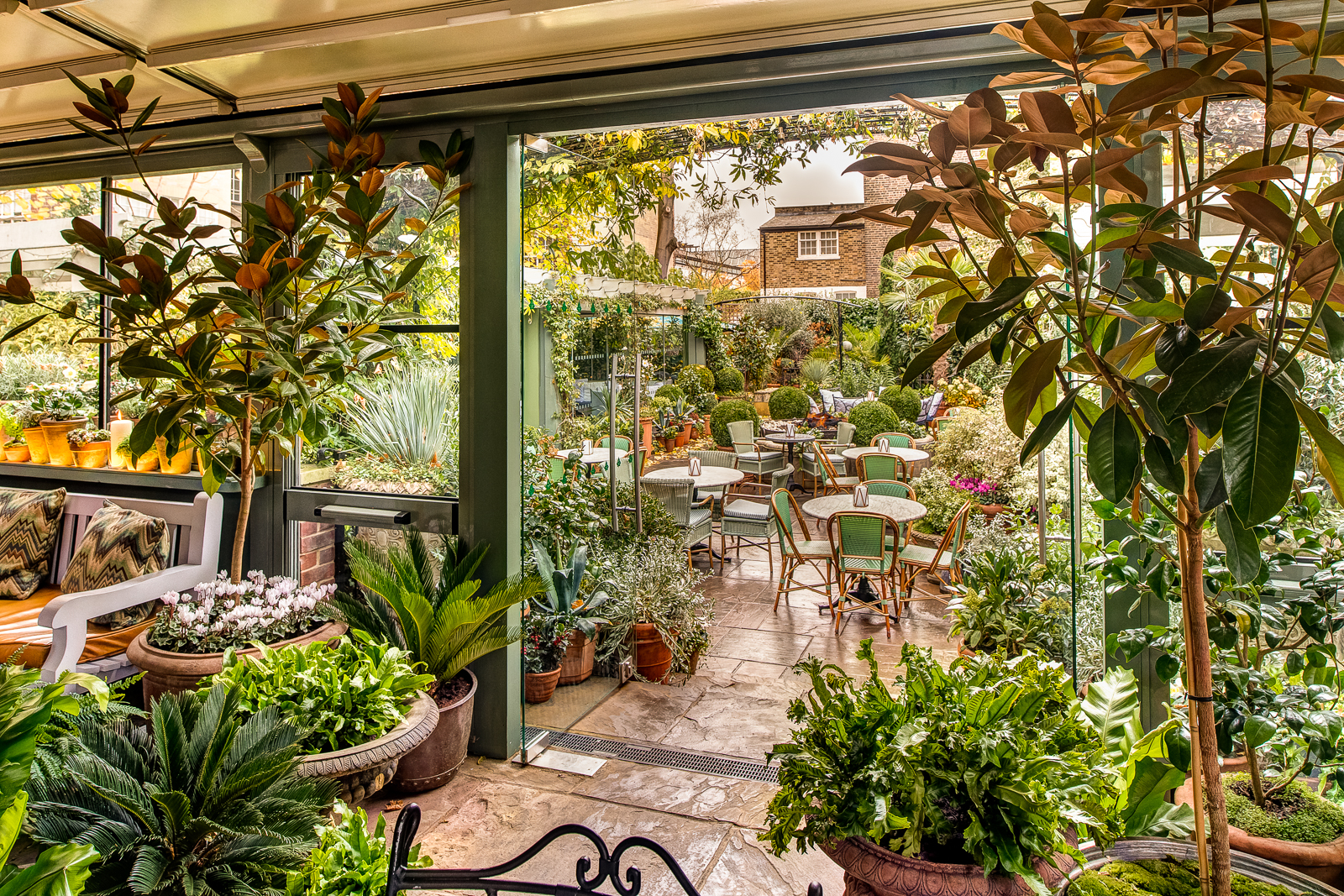 Discover Credit Card Sign In >> The Ivy Chelsea Garden - Todott